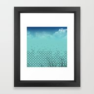 Framed Art Print featuring Grills Freedom by Tony Vazquez