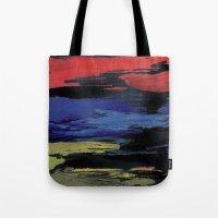 Primary Night Sky Tote Bag