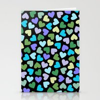 Hearts #3 Stationery Cards