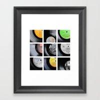 Vinyl Framed Art Print