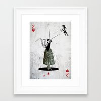 IT TAKES TWO TO TANGO Framed Art Print