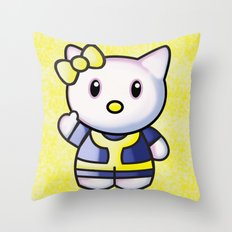 Hello It Is Me: Fallout 4 Throw Pillow