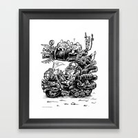 Nap Time Framed Art Print