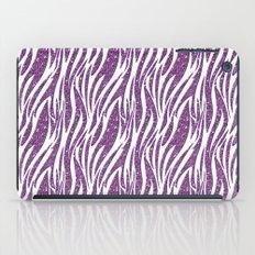 glitter zebra iPad Case