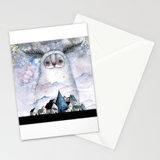 Night creature Stationery Cards