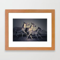 the embalmed pony show Framed Art Print