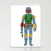 My Favorite Toy - Boba Fett Stationery Cards