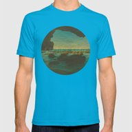 Secret Spot Mens Fitted Tee Teal SMALL