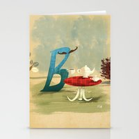 Time For Tea With Letter… Stationery Cards