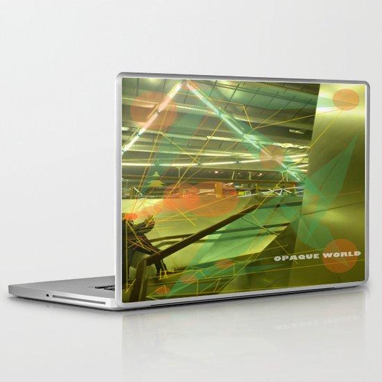 Photographer of steel stairs Laptop & iPad Skin