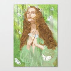 Rapture (Nymph) Canvas Print