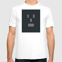 Mister Roboto Mens Fitted Tee White SMALL
