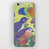 Birds2 iPhone & iPod Skin
