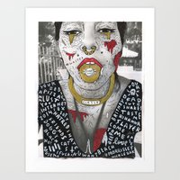 HIDE YOUR KIDS Art Print