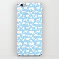 Animal Silhouettes iPhone & iPod Skin