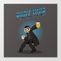 Gary King vs The World's End Canvas Print