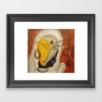 Menmai  Framed Art Print
