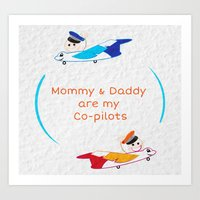 Pilots Art Print