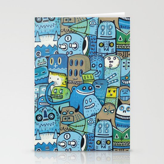 Quai n°12 Stationery Card