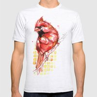 Cardinal Rule Mens Fitted Tee Ash Grey SMALL
