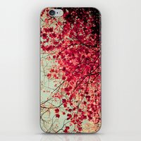 Autumn Inkblot iPhone & iPod Skin