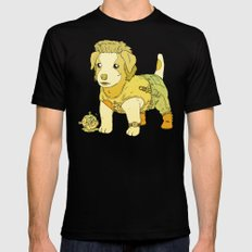 Kurt Russell Terrier - Jack Burton Black SMALL Mens Fitted Tee