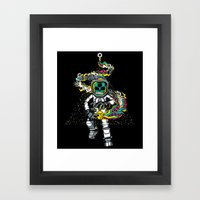 Space Madness! Framed Art Print