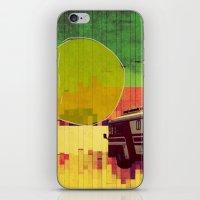 going west (ANALOG ZINE) iPhone & iPod Skin