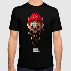 Crystal Mario Mens Fitted Tee Black SMALL