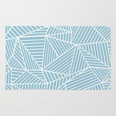 Ab Lines Sky Blue Rug