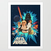 Star Wars FanArt: Rats W… Art Print
