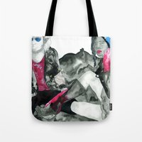 In Space! Tote Bag
