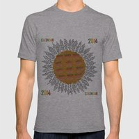 Calendar 2014 - Sunflower Mens Fitted Tee Athletic Grey SMALL