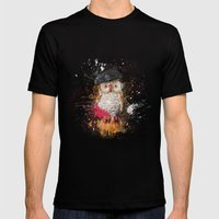 Spain Owl Mens Fitted Tee Black SMALL