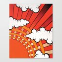 Red Ray Canvas Print