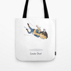 Condor Dive! Tote Bag