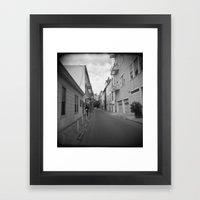 Streets Of SF Framed Art Print