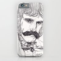 iPhone & iPod Case featuring The Butcher by Paul Nelson-Esch /Expeditionary Club