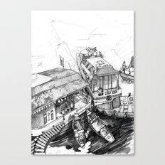 Nuchinatown Canvas Print