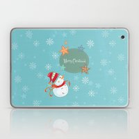 Merry Christmas Laptop & iPad Skin