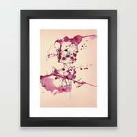 Spotted Kitty Fawn Framed Art Print