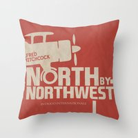 North By Northwest - Alf… Throw Pillow