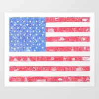 The America Art Print
