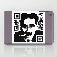 QR- Groucho iPad Case