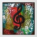 Create Music  Canvas Print