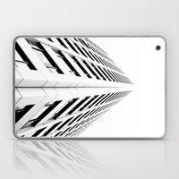 Keep Your Aim High (White Symmetry) Laptop & iPad Skin
