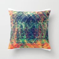 Cosmo Earthquake - Digit… Throw Pillow