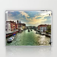 Sunrise on the Grand Canal, Venice Laptop & iPad Skin