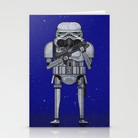 Star Storm Fighter Stationery Cards