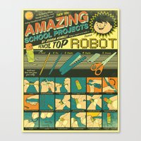 Amazing School Projects Canvas Print